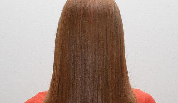 выпрямление волос желатином