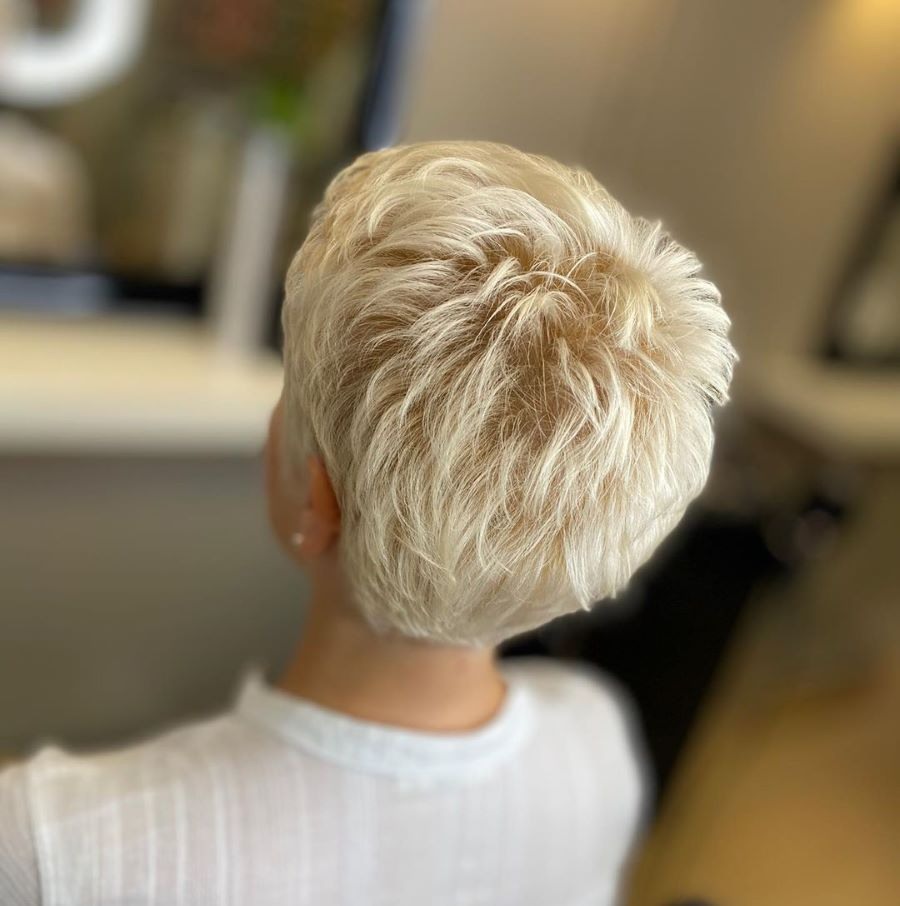 пикси в цвете блонд